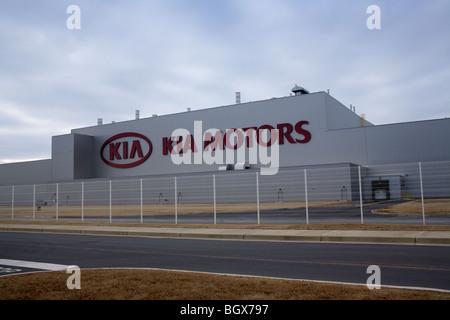 Kia Motors Assembly Plant, West Point, South Carolina - Stock Photo