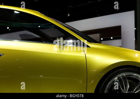 2009 2010 Lexus Lf-Ch Concept at 2010 North American International Auto Show NAIAS in Detroit Michigan 2.4L Four - Stock Photo