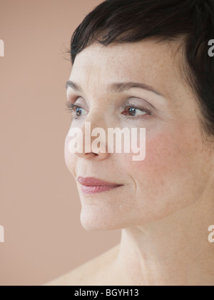 Portrait of woman - Stock Photo