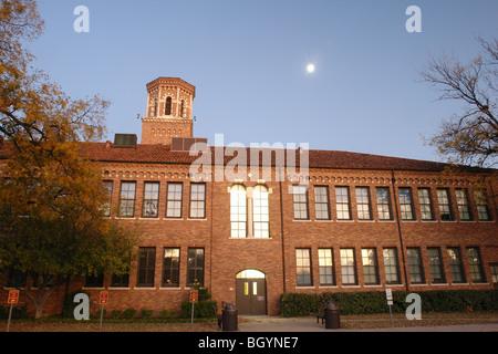 Wichita Falls, TX, Texas, Midwestern State University, evening
