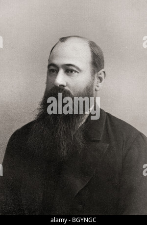 Martinus or Marthinus Theunis Steyn 1857 to 1916. South African lawyer, politician, statesman, president of  Orange - Stock Photo