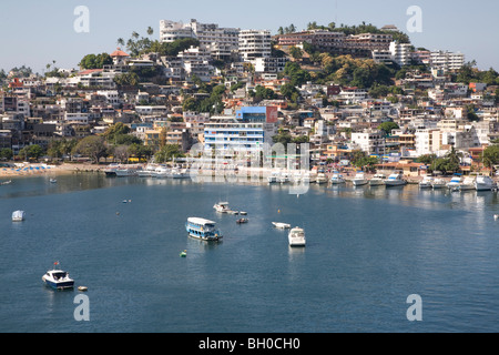View of Acapulco harbour, Mexico. - Stock Photo