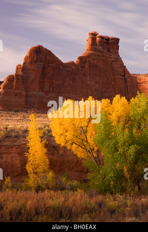 Courthouse Wash, Arches National Park, near Moab, Utah. - Stock Photo