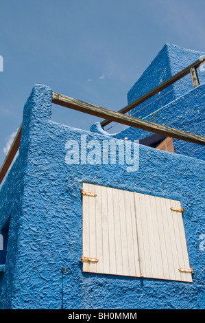 Uruguay. Beach houses and chalets in Punta del Este - Stock Photo