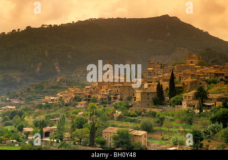 Europe, Spain, Majorca, Valldemossa - Stock Photo
