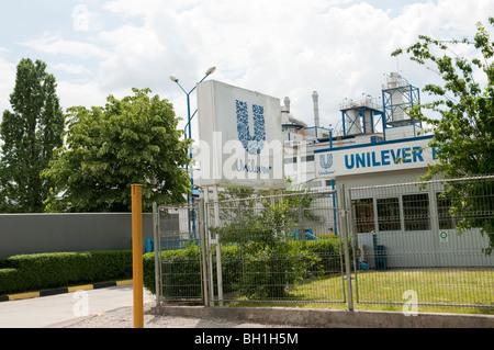 Unilever factory Ploiesti Romania Eastern Europe - Stock Photo