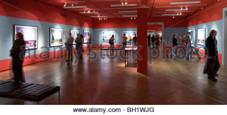 Museum fuer Kunst und Gewerbe, MKG, Megalopolis Shanghai exhibition by Horst and Daniel Zielske, Hanseatic City - Stock Photo