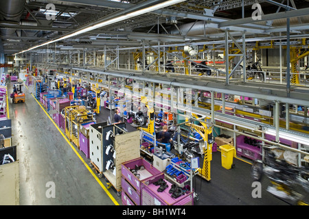 production bmw motorcycle factory in berlin germany stock photo 10004049 alamy. Black Bedroom Furniture Sets. Home Design Ideas