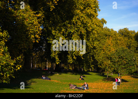 St James's Park London England UK Europe - Stock Photo