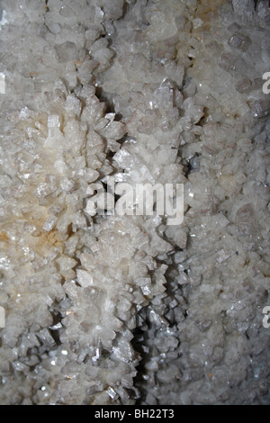 Barite Crystals From Hexham, Northumberland, UK - Stock Photo