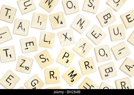 Scrabble tiles - Stock Photo