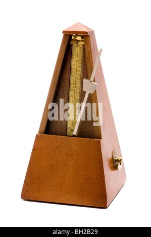 musical metronome - Stock Photo