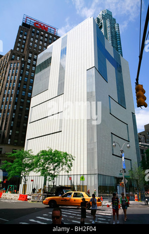The Museum of Arts and Design (MAD), columbus circle in Manhattan in New York - Stock Photo