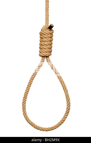 Hangmans Noose - Stock Photo