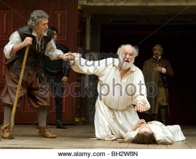King Lear by William Shakespeare - Stock Photo