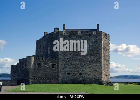 Blackness Castle, on the Firth of Forth, near Edinburgh, Scotland - Stock Photo