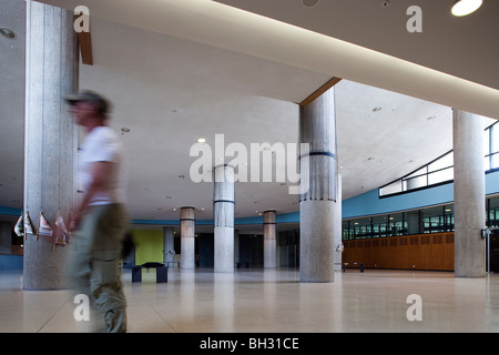 Interior of the House of World Cultures, Berlin, Germany - Stock Photo