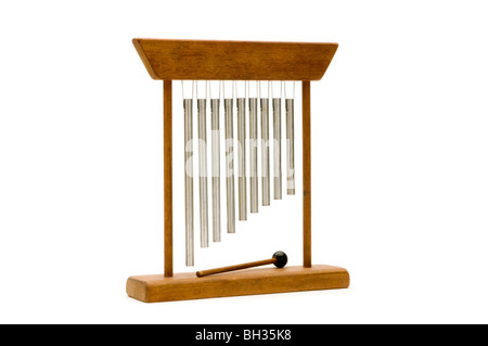 chimes on white - Stock Photo
