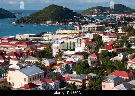 Charlotte Amalie, St. Thomas, U.S. Virgin Islands - Stock Photo