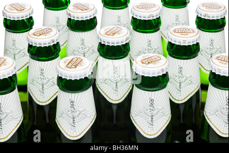 Beer bottles - Stella Artois - Stock Photo
