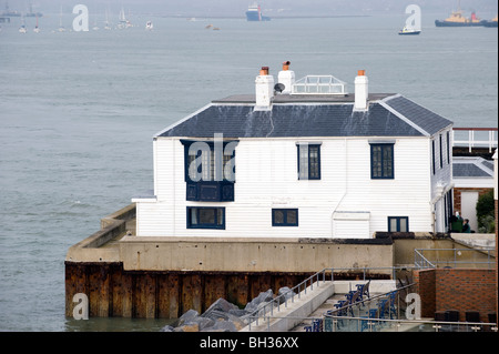 Quebec House, Bath Square, Old Portsmouth, Portsmouth, Hampshire, England, UK. - Stock Photo