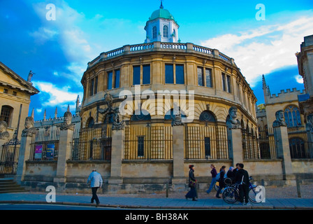 Sheldonian Theatre Broad street Oxford England UK Europe - Stock Photo