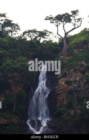 Africa Kpalime Kpime Falls Togo Water Waterfalls