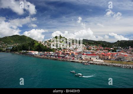 St George's, Grenada, Caribbean - Stock Photo