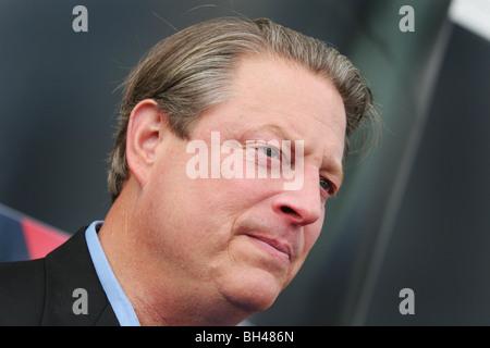 Former Vice President of America, Al Gore, in Edinburgh, Scotland. - Stock Photo