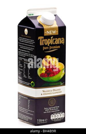 Carton of tropicana pure orange juice stock photo royalty - Carton valencia ...