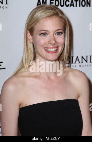 GILLIAN JACOBS AN EDUCATION LOS ANGELES PREMIERE HOLLYWOOD LOS ANGELES CA USA 01 October 2009 - Stock Photo