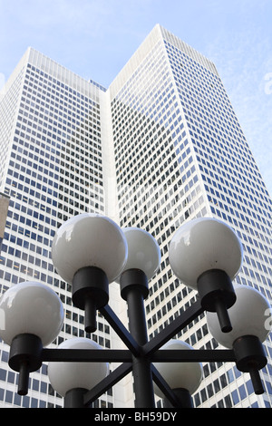 1 Place Ville-Marie in Montreal's downtown area, Montreal, Quebec, Canada - Stock Photo