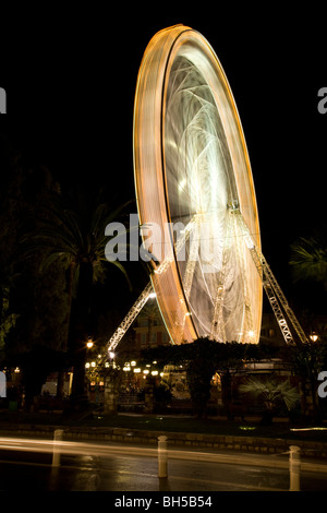2009 - 2010 New Years Eve in Nice, Provence, France - Stock Photo