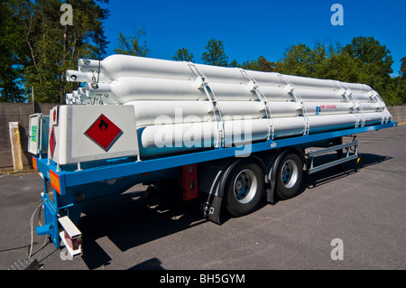 mobile hydrogen refueling station from air liquide at michelin stock photo royalty free image. Black Bedroom Furniture Sets. Home Design Ideas