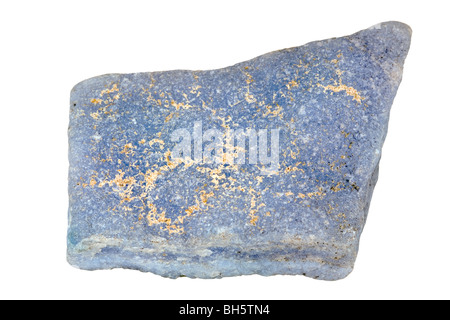 Anhydrite (Angelite) - Stock Photo