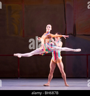 Birmingham Royal Ballet. Love and Loss programme. 'The Dance House'. - Stock Photo