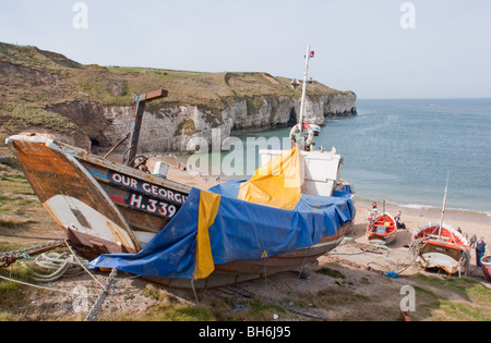 Fishing boats north landing flamborough head yorkshire for Head boat fishing near me