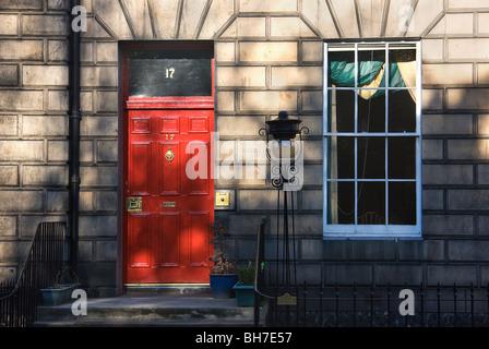 No17 Heriot row.Edinburgh. - Stock Photo