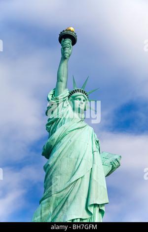 USA, New York City, Statue of Liberty - Stock Photo