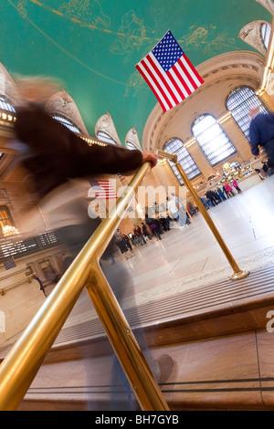 USA, New York City, Manhattan, Grand Central Station - Stock Photo