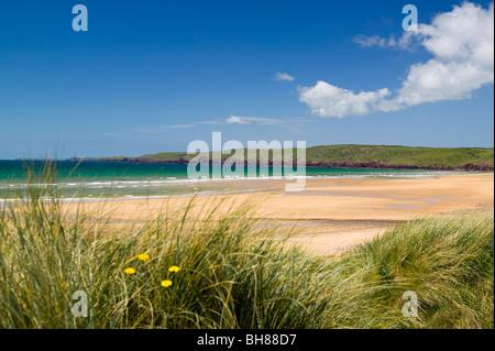 Freshwater West Pembrokeshire Coast National Park Wales - Stock Photo