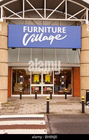 Furniture Village Birstall furniture village store sign logo name shop exterior leeds