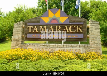 AJD64864, Beckley, WV,  West Virginia, Tamarack 'The Best of West Virginia' - Stock Photo