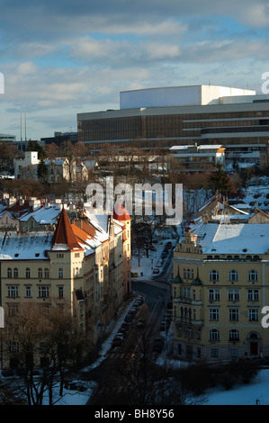 Old and modern buildings - Stock Photo