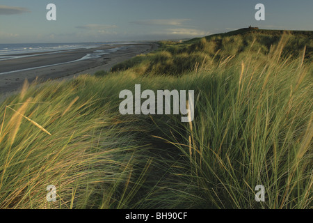 Dunes at Irvine Beach Ayrshire Scotland - Stock Photo