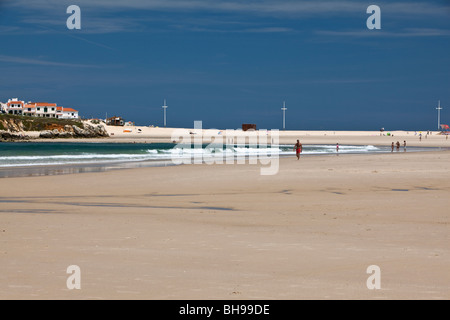 Baleal Peniche Portugal Europe Stock Photo Royalty Free Image - Portugal map baleal
