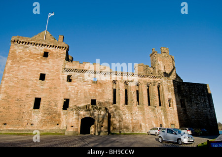 The Frontage Linlithgow Palace West Lothian Scotland  SCO 6021 - Stock Photo