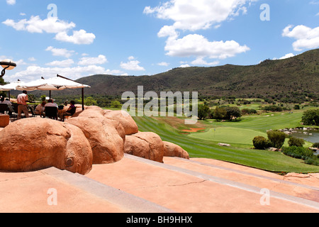 Sun City Golf Course Northwest Province , Johannesburg,South Africa - Stock Photo