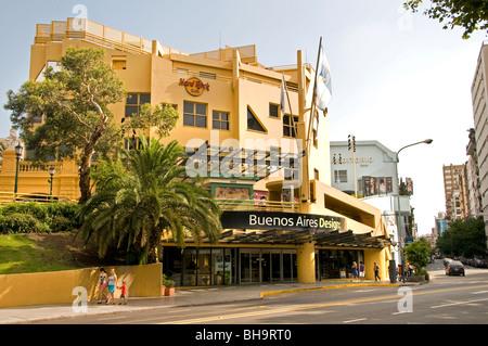 Buenos Aires Modern Design Recoleta Shopping Mall Argentina - Stock Photo