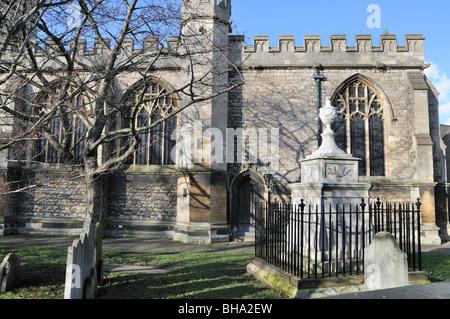 St.Nicholas Church,Chiswick - Stock Photo